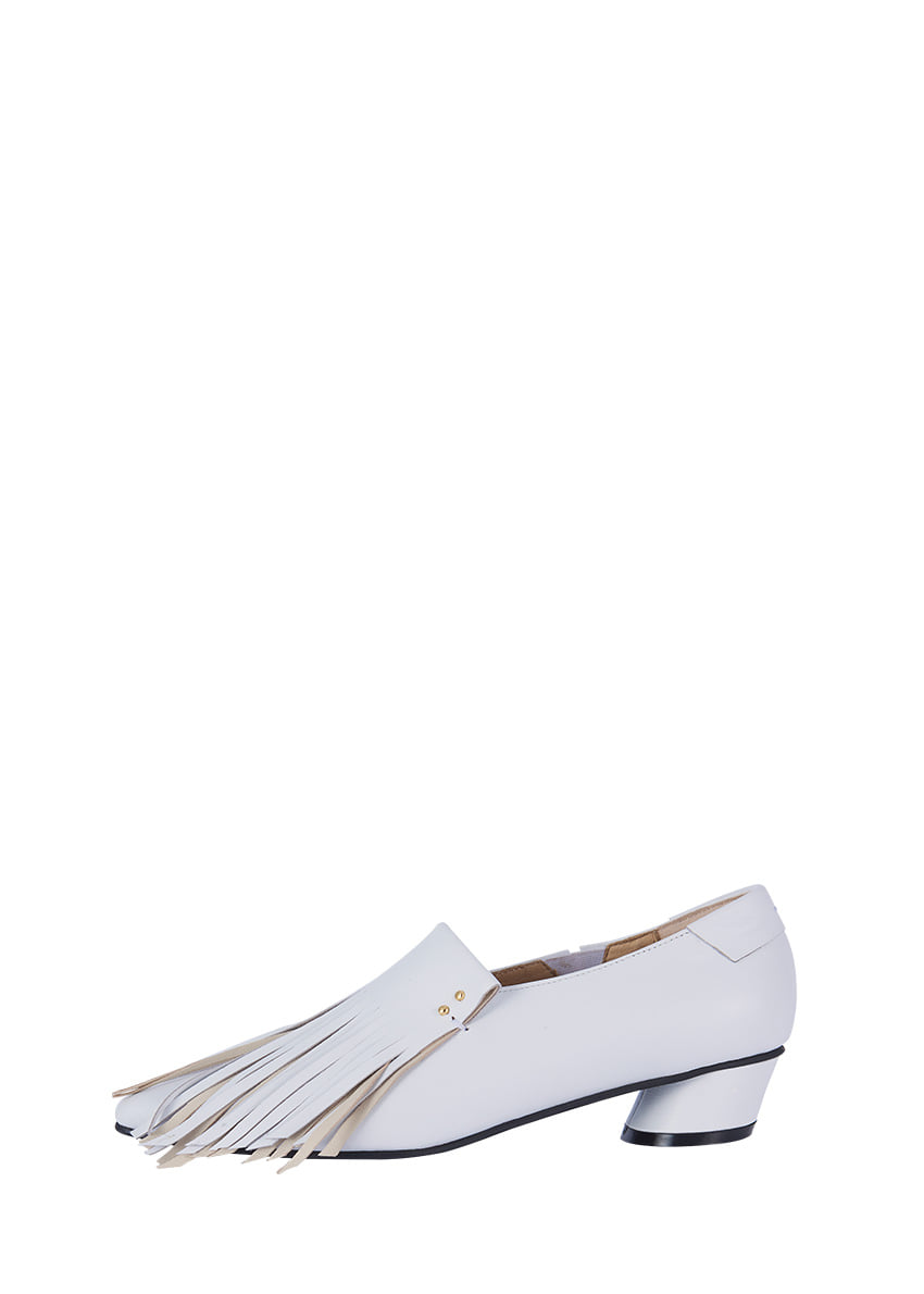 Two Tone Fringe loafer / RK1-SH066