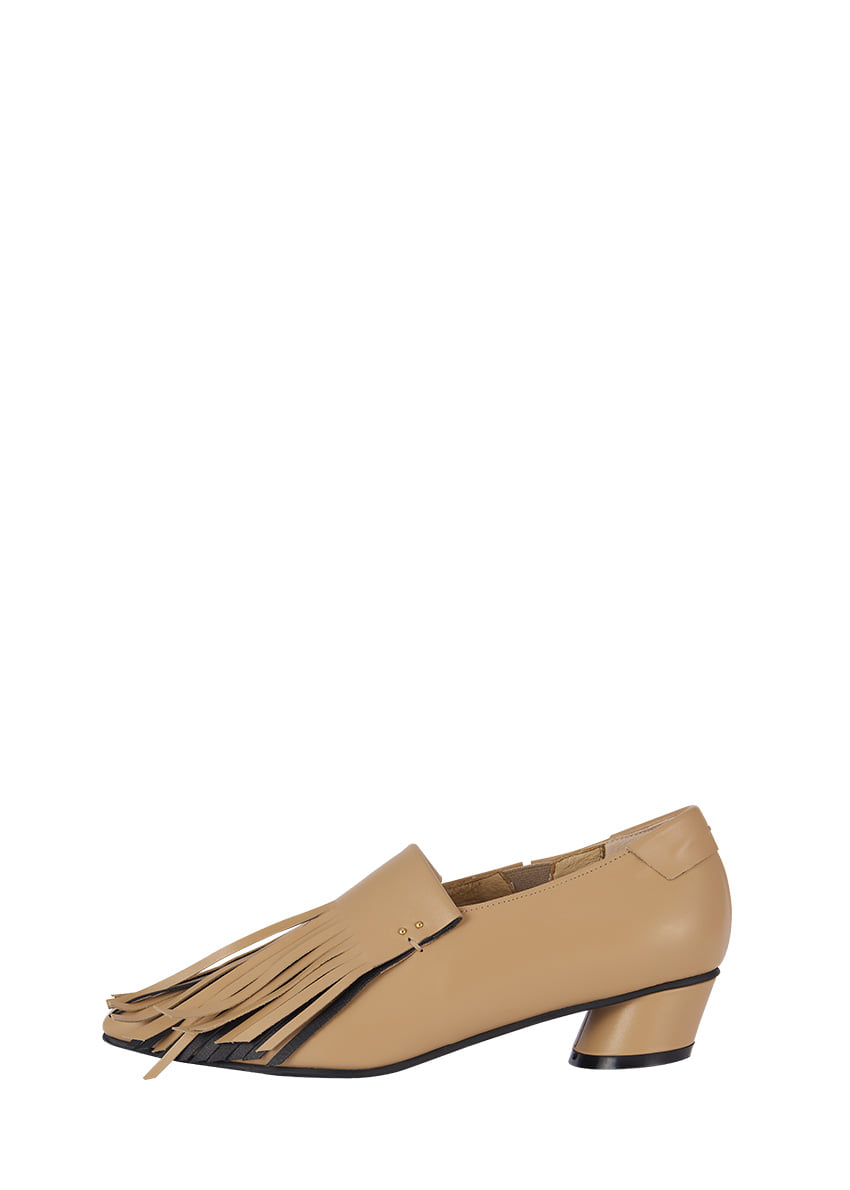 Two Tone Fringe Loafer / RK1-SH067