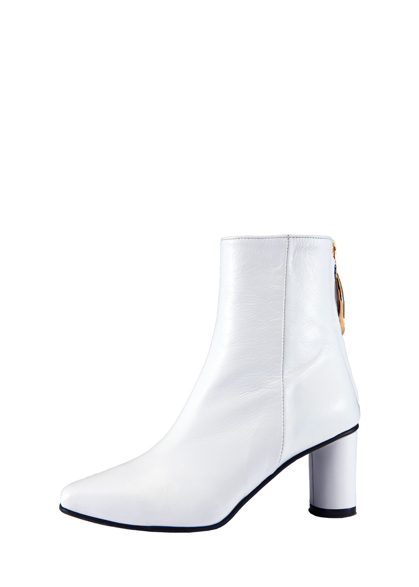 Wave Oval Ankle Boots / RK4-SH005